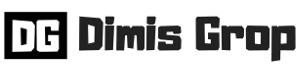 dimis logo white